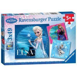 Ravensburger Ledové království 3x49 dílků