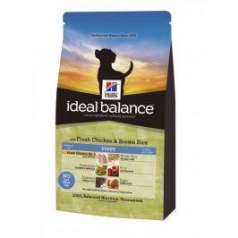 Hill's Canine Ideal Balance Puppy kuře & hnědá rýže 12 kg