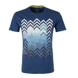 s.Oliver pánské tričko XL modrá