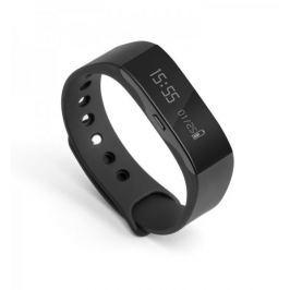 Technaxx fitness náramek Trackfit, voděodolný, Bluetooth 4.0, Android/iOS, černý (TX-63)