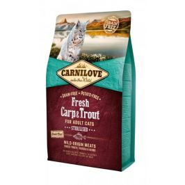 Carnilove Fresh Carp & Trout Sterilised for Adult cats 2 kg