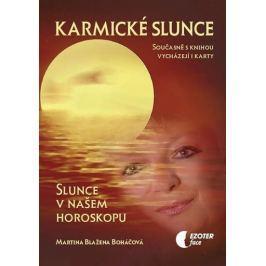 Boháčová Martina Blažena: Karmické slunce (kniha + karty 28 ks)