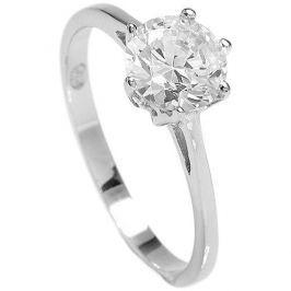 Brilio Silver Stříbrný zásnubní prsten 5119085 (Obvod 58 mm) stříbro 925/1000