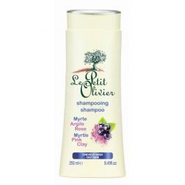 Le Petit Olivier Šampon pro mastné vlasy Myrta a růžový jíl 250 ml