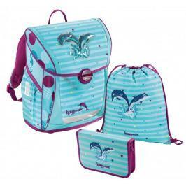Hama Školní 3-dílný set, Baggymax Fabby Delfínci