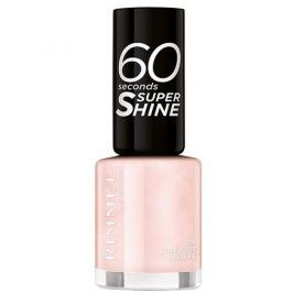 Rimmel Lak na nehty 60 Seconds Super Shine 8 ml (Odstín 703 White Hot Love)