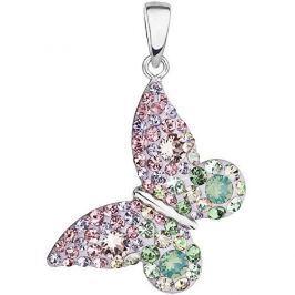 Evolution Group Romantický přívěsek Motýl Sakura 34192.3 stříbro 925/1000