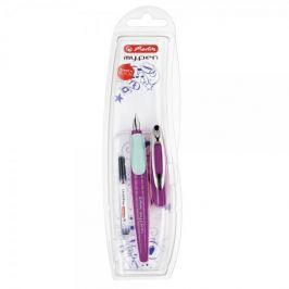 Herlitz Bombičkové pero my.pen-M, fialovo/mint