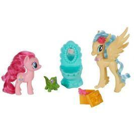 My Little Pony Set dvou poníků s doplňky Pinkie Pie a Princess Skystar