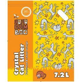 Huhubamboo Podestýlka HUHU silikon pomeranč 7,2L