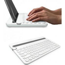 Logitech Bluetooth Multi-Device Keyboard K480 US, bílá (920-006367) - rozbaleno