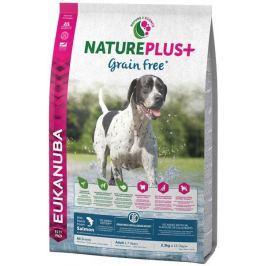 Eukanuba Nature Plus+ Adult Grain Free Salmon 2,3kg Granule pro psy