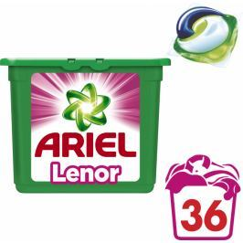 Ariel Touch of Lenor Fresh 3v1 gelové kapsle na praní 36 ks