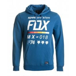 FOX pánská mikina DISTRICT 2 PULLOVER XL modrá