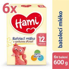 Hami 12+ Vanilka 6 x 600g