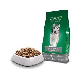 Vivavita Granule pro aktivní psy 15kg Granule pro psy