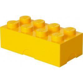 LEGO Box na svačinu 10 x 20 x 7,5 cm žlutá