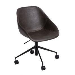 Mørtens Furniture Kancelářská židle Potter, tmavě šedá