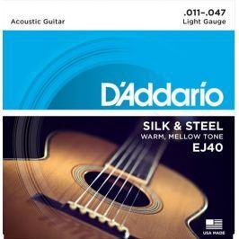 Daddario EJ40 Kovové struny pro akustickou kytaru
