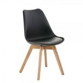 BHM Germany Jídelní / jednací židle Lenora (SET 2 ks), černá
