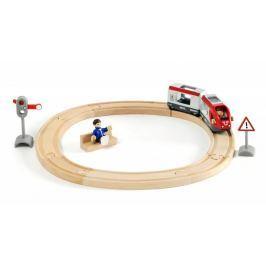 Brio WORLD 33511 Kruhová vláčkodráha s osobním vlakem