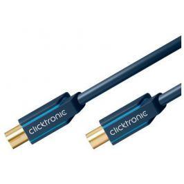 ClickTronic HQ OFC anténní kabel M/F, 1 m