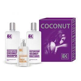 Brazil Keratin Dárková sada pro suché a poškozené vlasy Coconut Set