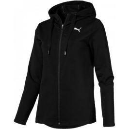 Puma Modern Sport FZ Logo Hoody Cotton Black XS