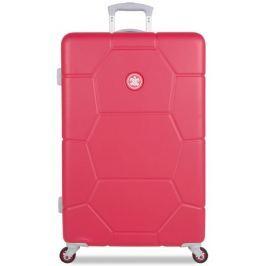 SuitSuit Cestovní kufr Caretta L malinová - rozbaleno