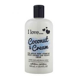 I Love Cosmetics Koupelový a sprchový krém s vůní kokosu a sladkého krému (Coconut & Cream Bubble Bath And Shower Cre