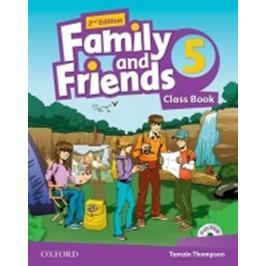 Thompson Tamzin: Family and Friends 2nd Edition 5 Course Book with MultiROM Pack