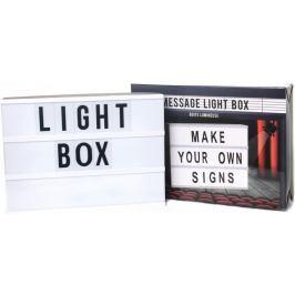 Sifcon Svítící box s písmenky