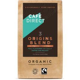 Cafédirect BIO Smooth Blend mletá káva 227g