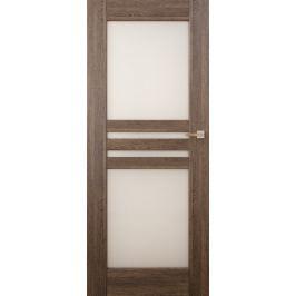 VASCO DOORS Interiérové dveře MADERA kombinované, model 6, Ořech, D