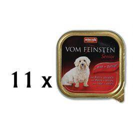 Animonda Vom Feinstein senior hovězí + kuře 11x150g