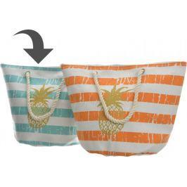 Kaemingk Plážová taška s ananasem, modrá