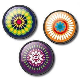 Nikidom Sada odznáčků Roller Pins Mandala