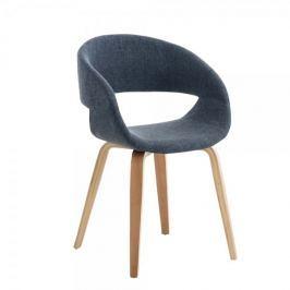 BHM Germany Jídelní / jednací židle Patricia, modrá