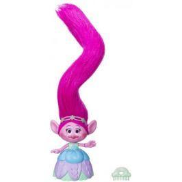 Hasbro TROLLS Poppy s extra dlouhými svítícími vlasy