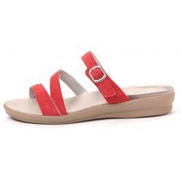Scholl dámské pantofle Elinor 36 červená