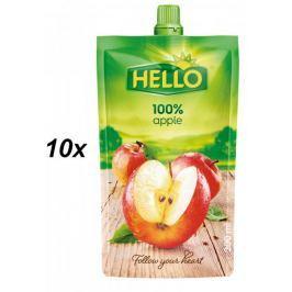 Hello 100% jablko 10x200ml