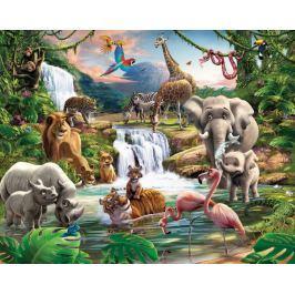 Walltastic Fototapeta Džungle Tapety, samolepky
