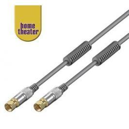 Home Theater Satelitní anténní kabel M/M, 2,5 m
