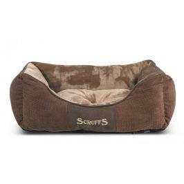 Scruffs Chester Box Bed čokoládový vel. S