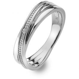 Hot Diamonds Stříbrný prsten s diamantem Chandelier Vintage DR179 (Obvod 51 mm) stříbro 925/1000