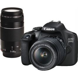 Canon EOS 2000D + 18-55 IS + 75-300 DC III (2728C017)