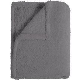 Mistral Home Pléd Sherpa 130x170 cm, šedá