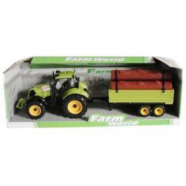 Mac Toys Traktor s valníkem zelený