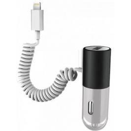 MiPOW autonabíječka, Bolt Car Charger USB+Lightning, černá