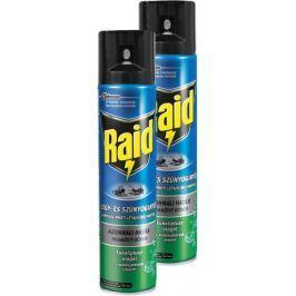 Raid sprej proti létajícímu hmyzu s eukalyptovým olejem 2x400 ml